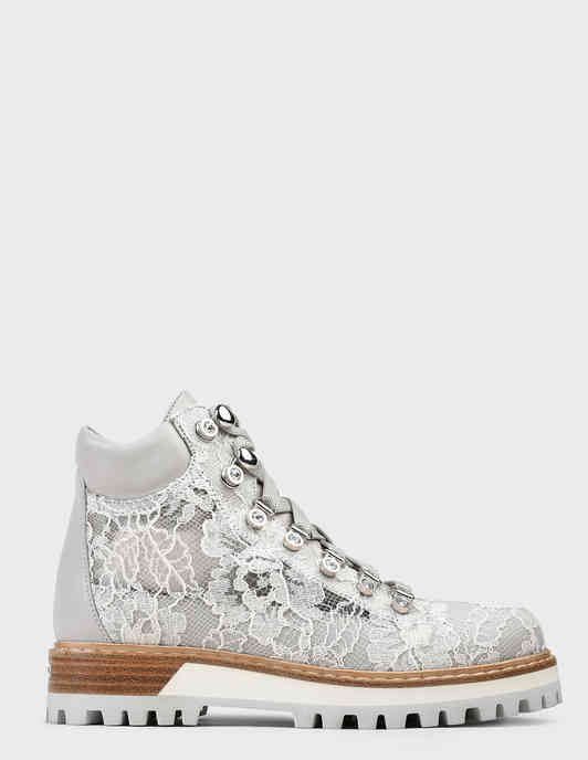 серые Ботинки Le Silla 502-gray