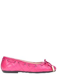 Детские балетки для девочек Moschino 25728-fuxia_pink