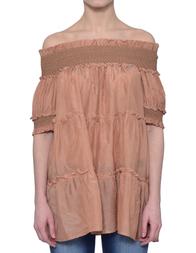 Женская блуза TWIN-SET TS726Q0846S _beige