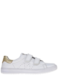 Детские кроссовки для девочек Naturino Lenny-bianco-oro_white