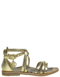 Детские сандалии для девочек ROBERTO CAVALLI I40694_gold