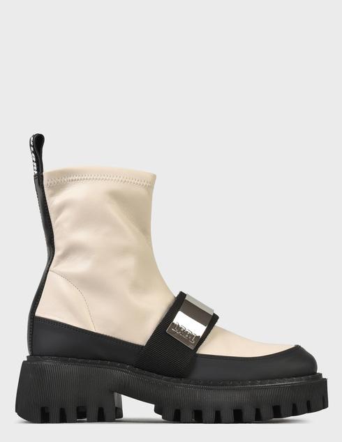 женские бежевые Ботинки Loriblu 2I4TL05300 - фото-7