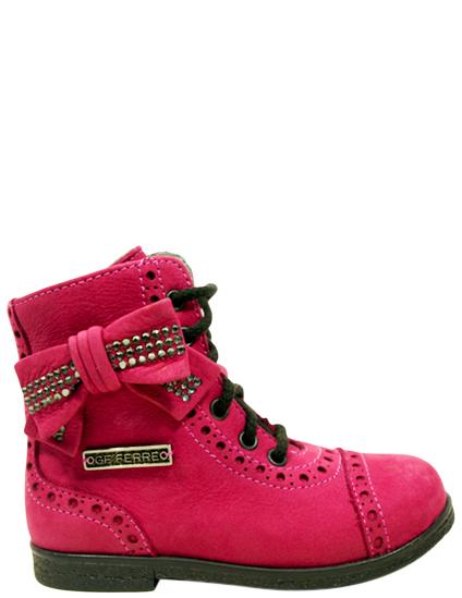 Купить Ботинки, GF FERRE, Бордовый, Осень-Зима