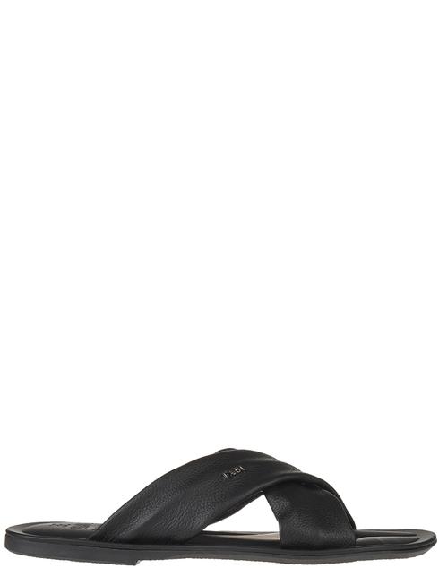 мужские черные кожаные Шлепанцы Fabi AGR-FU7491A - фото-5