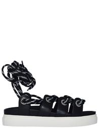 Женские сандалии N21 202_black