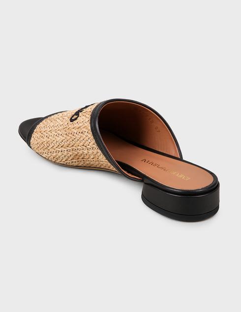 женские коричневые Шлепанцы Emporio Armani X3P712XM330-P927 - фото-2