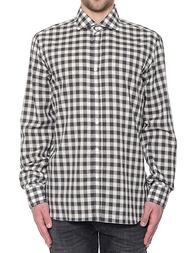 Мужская рубашка BARBA NAPOLI LFU136522702X_brown