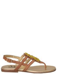 Босоножки для девочек GALLUCCI 910cuoio_brown