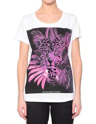 Женская футболка TRUSSARDI JEANS 56T000031T000377W001_white
