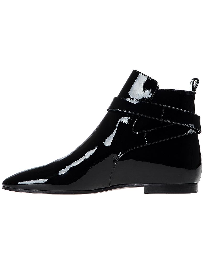 Фото 3 - женские ботинки и полуботинки  черного цвета