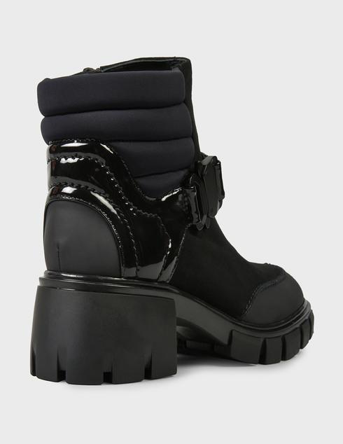 женские черные нубуковые Ботинки Loriblu AGR-1IGAN178GG - фото-5