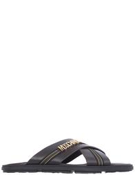 Мужские шлепанцы Moschino 6676_brown