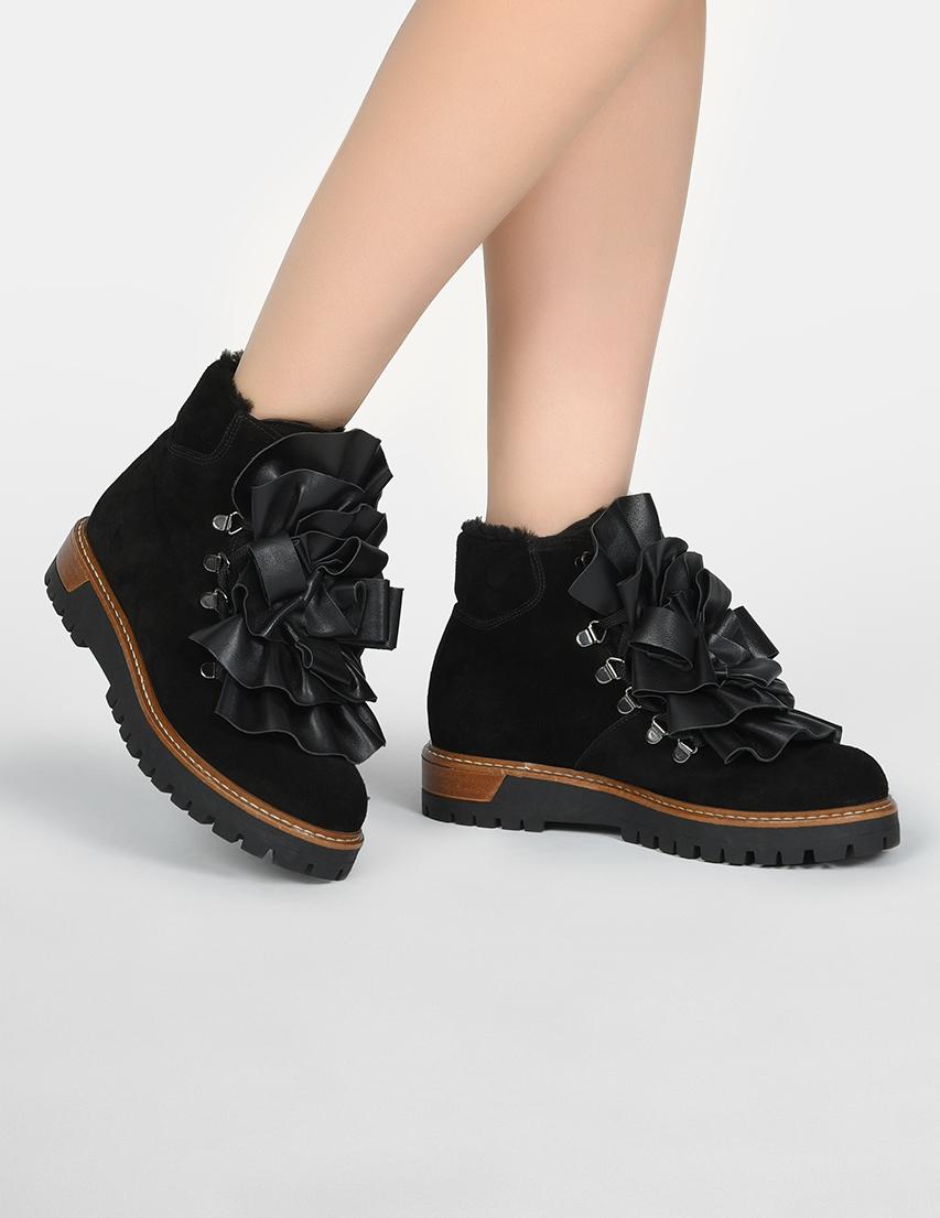 Женские ботинки Pokemaoke LEONARDO_black