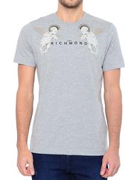 Мужская футболка JOHN RICHMOND RMA17004TS-W0066_gray