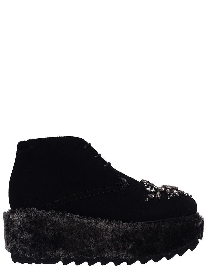 Женские ботинки Sebastian 7493_black