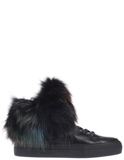 женские черные Ботинки Iceberg ID1097A - фото-6