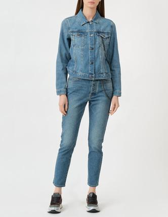 ARMANI EXCHANGE джинсовая куртка