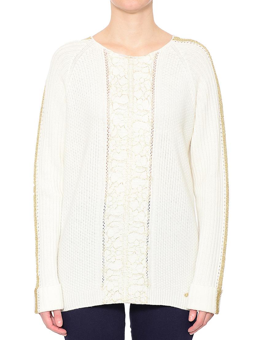 Белый женский свитер доставка