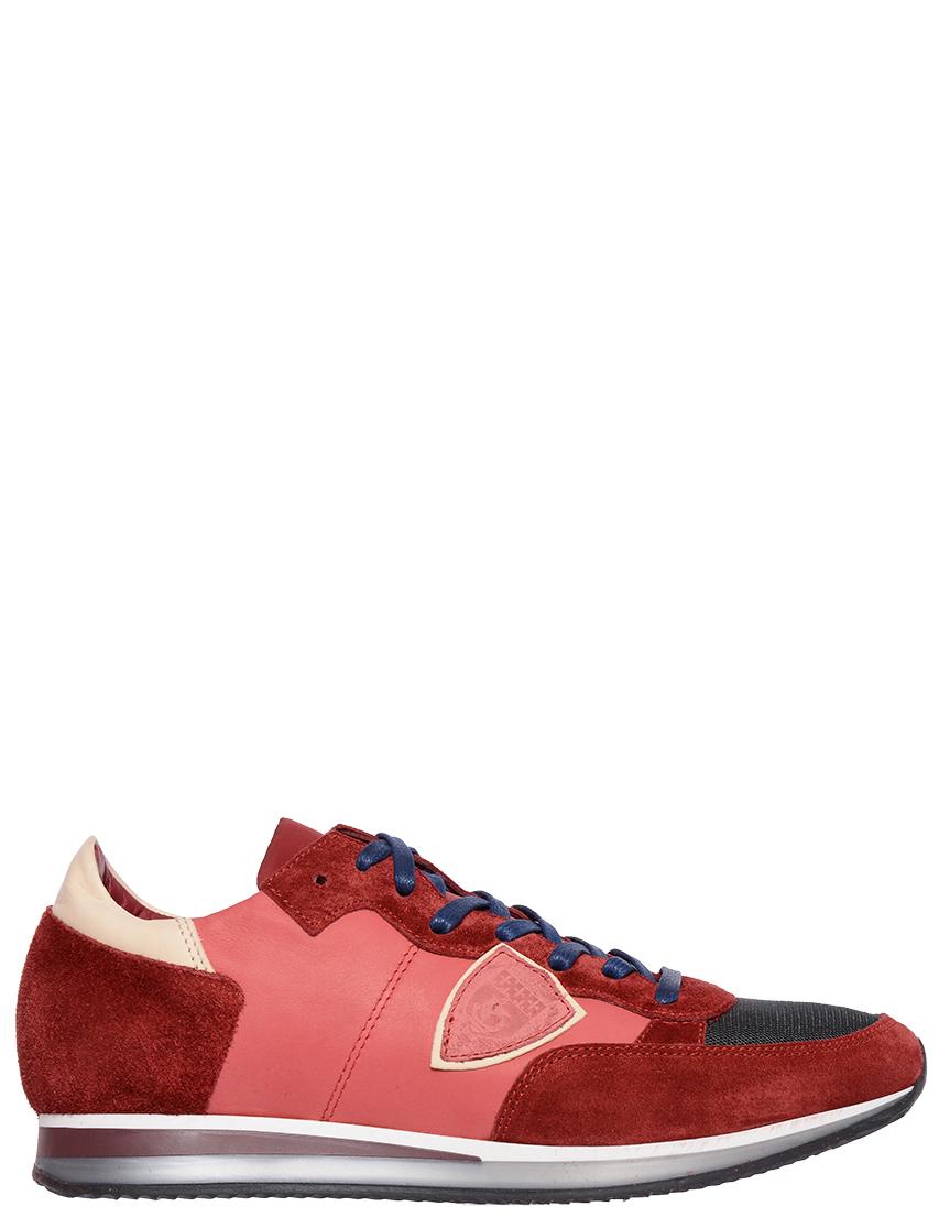 Мужские кроссовки Philippe Model STRLU-WZ13-ЖД000022688_red
