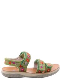 Детские босоножки для девочек NATURINO 5650-green