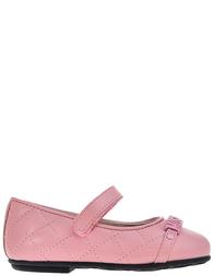 Детские туфли для девочек Moschino 25790-rosa_pink
