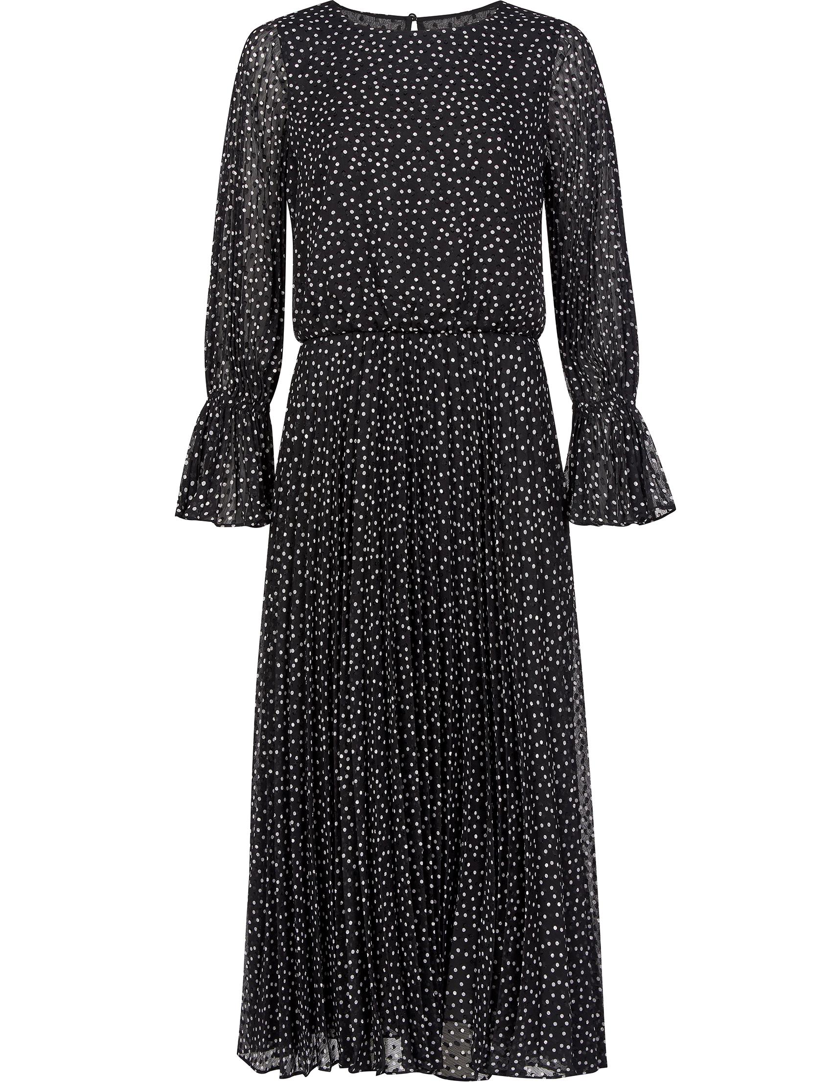 Купить Платья, Платье, EMPORIO ARMANI, Черный, 100%Полиэстер, Осень-Зима