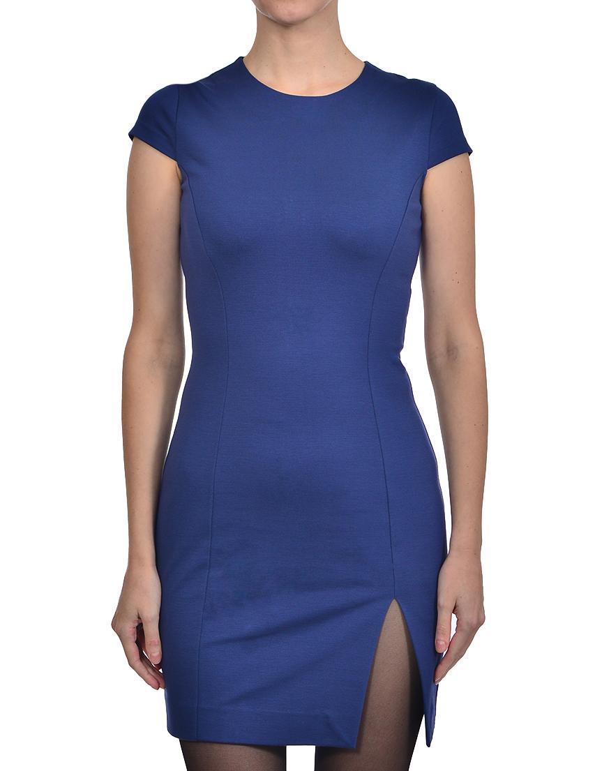 Купить Платье, DSQUARED2, Синий, 68%Вискоза 27%Полиамид 5%Эластан, Осень-Зима