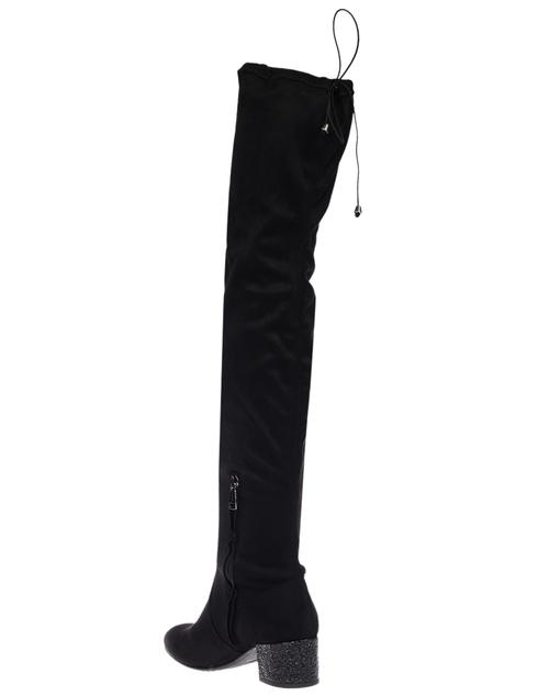 женские черные Ботфорты Tiffi GR26/40_black - фото-2