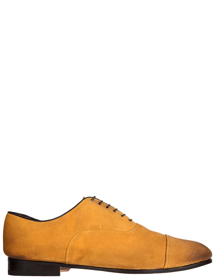 Мужские оксфорды DoucalS S2014_yellow