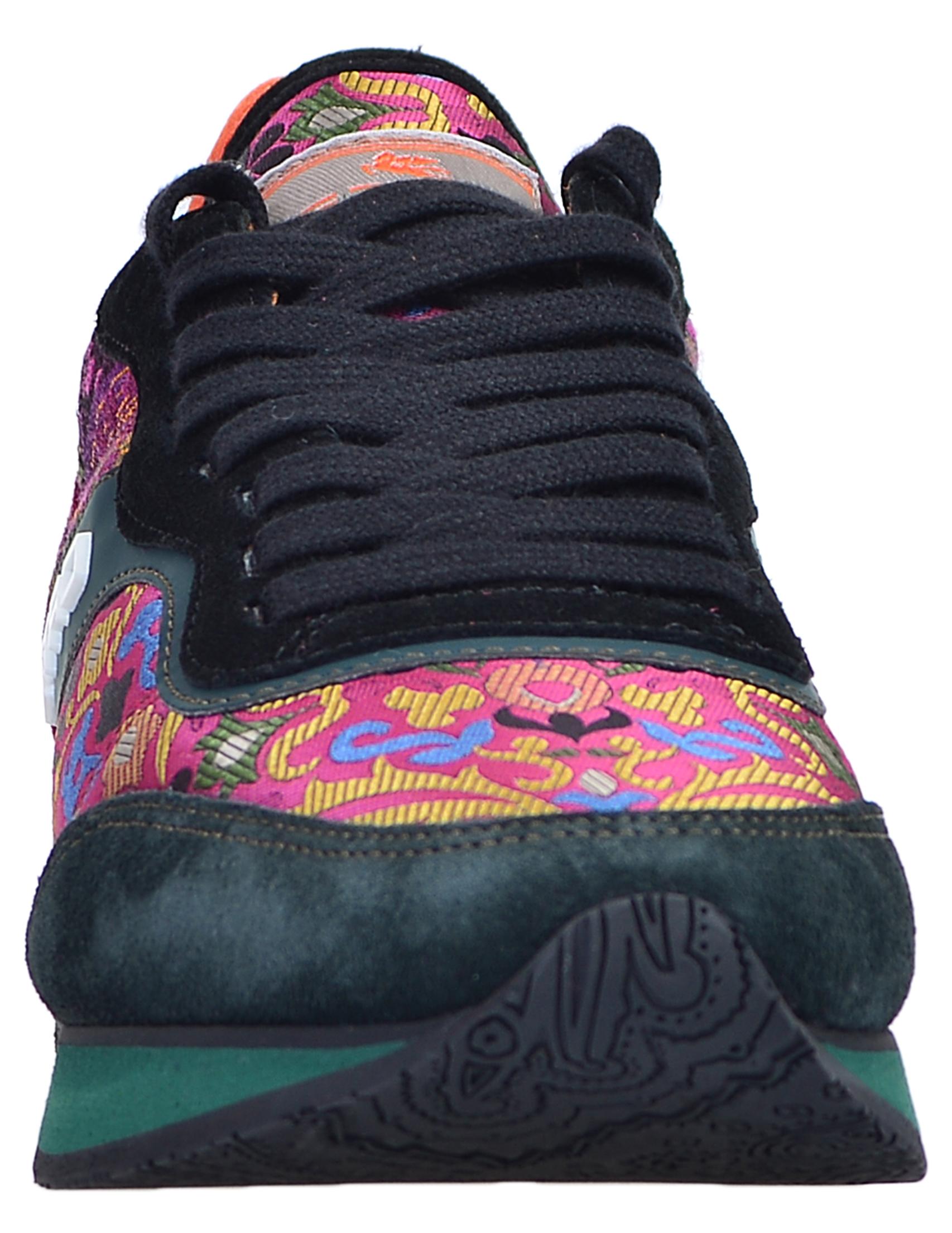Фото 6 - женские кроссовки  цвет многоцветный