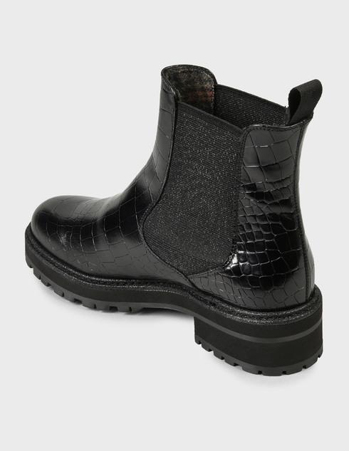 женские черные Ботинки Pertini 202W30359D1 - фото-2