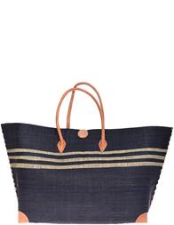 Женская пляжная сумка LE COMPTOIR DE LA PLAGE Ambositra-Noir-015
