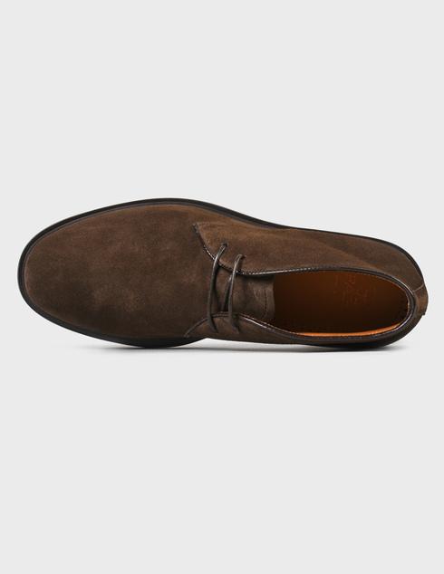 мужские коричневые замшевые Ботинки Fabi FU0358A-805 - фото-5