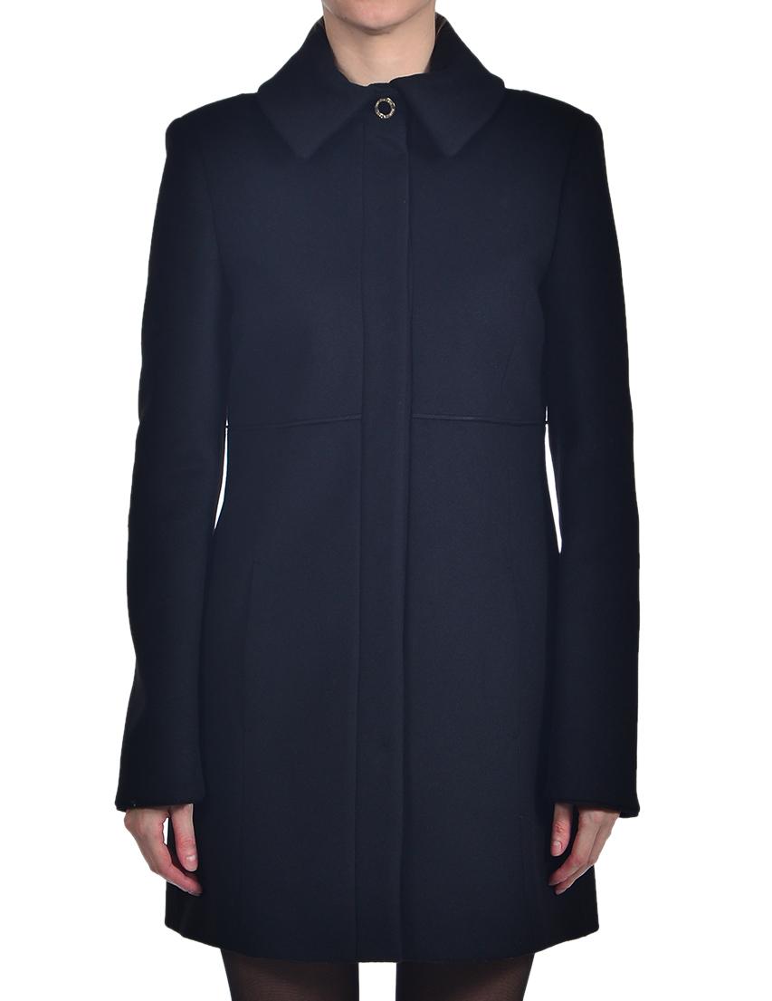 Купить Пальто, PATRIZIA PEPE, Черный, 75%Шерсть 25%Нейлон 5%Фибра, Осень-Зима