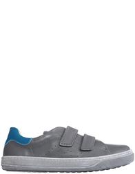 Детские кроссовки для мальчиков Naturino Lenny-antracite-avio-gray