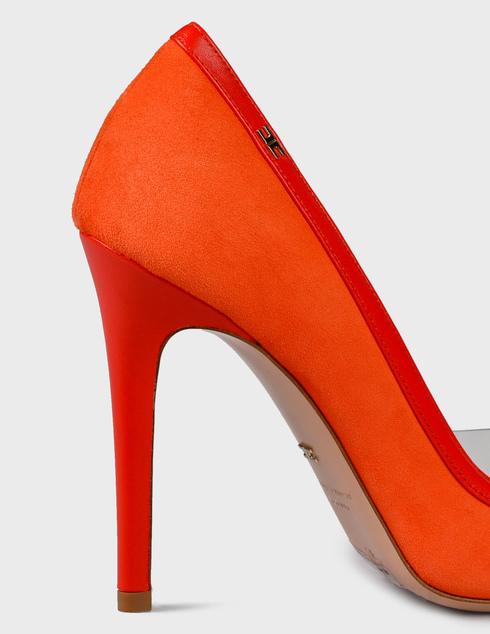 женские коралловые замшевые Туфли Elisabetta Franchi AGR-nSA-C1S-73E2-V302 - фото-5