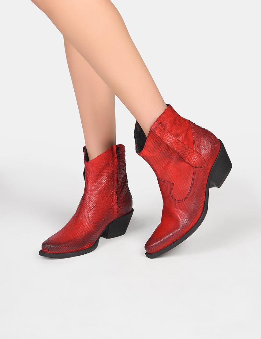 Женские ботинки LEstrosa 1045-red