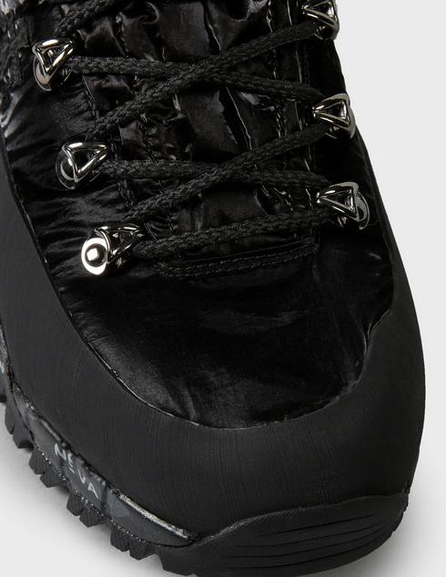женские черные текстильные Ботинки Premiata MIDTRECD_0167D - фото-5