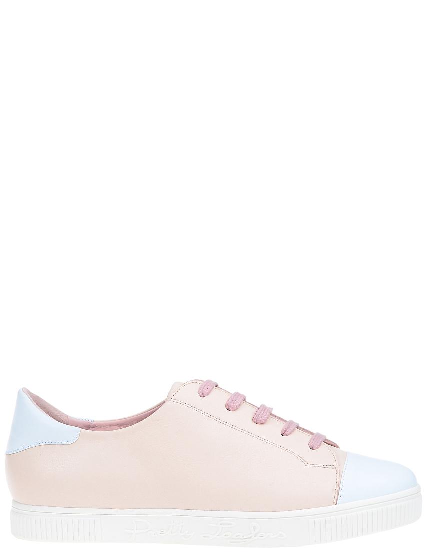 Женские кеды Pretty Loafers 45022_beige