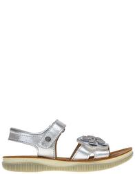 Детские сандалии для девочек Naturino 5728-argento-grigio-perla_silver