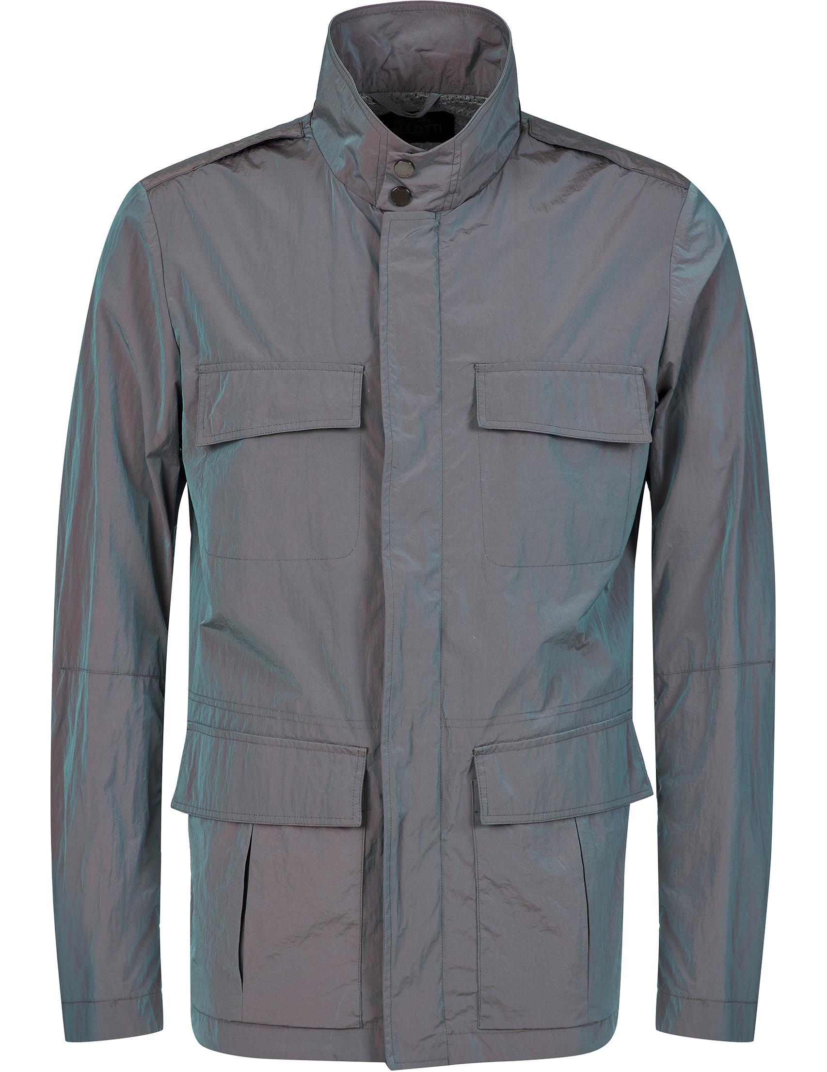 Купить Куртки, Куртка, GALLOTTI, Серый, 100%Полиэстер;100%Полиамид, Осень-Зима