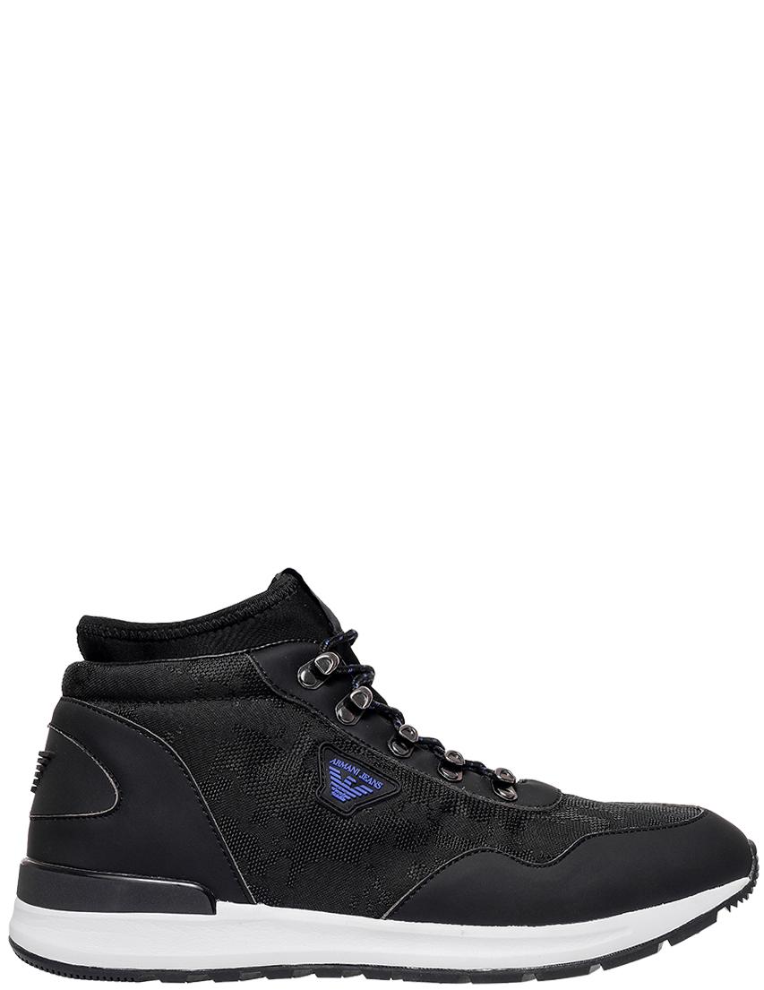 Мужские кроссовки Armani Jeans 7A408_black