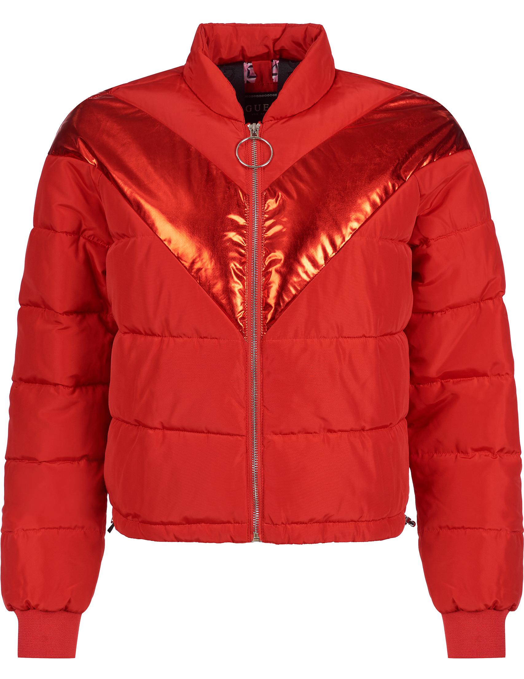 Купить Куртки, Куртка, GUESS, Красный, 100%Полиэстер, Осень-Зима