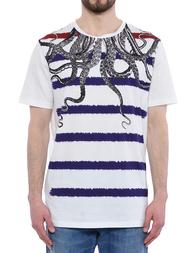 Мужская футболка FRANKIE MORELLO JT06JSST28-100