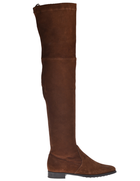 женские коричневые Ботфорты Mascaro 304_brown - фото-2