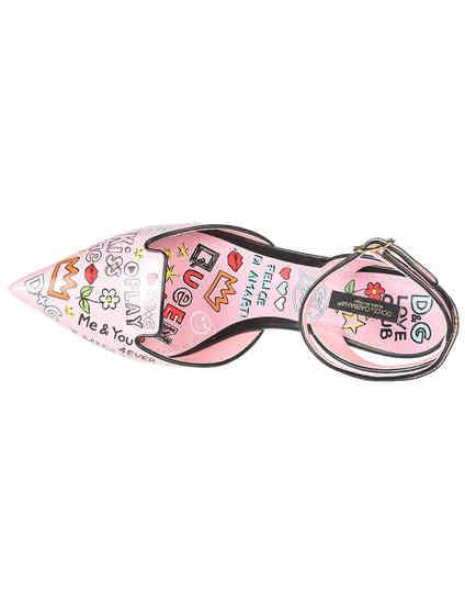розовые Босоножки Dolce & Gabbana 0251-946-52_pink размер - 39.5