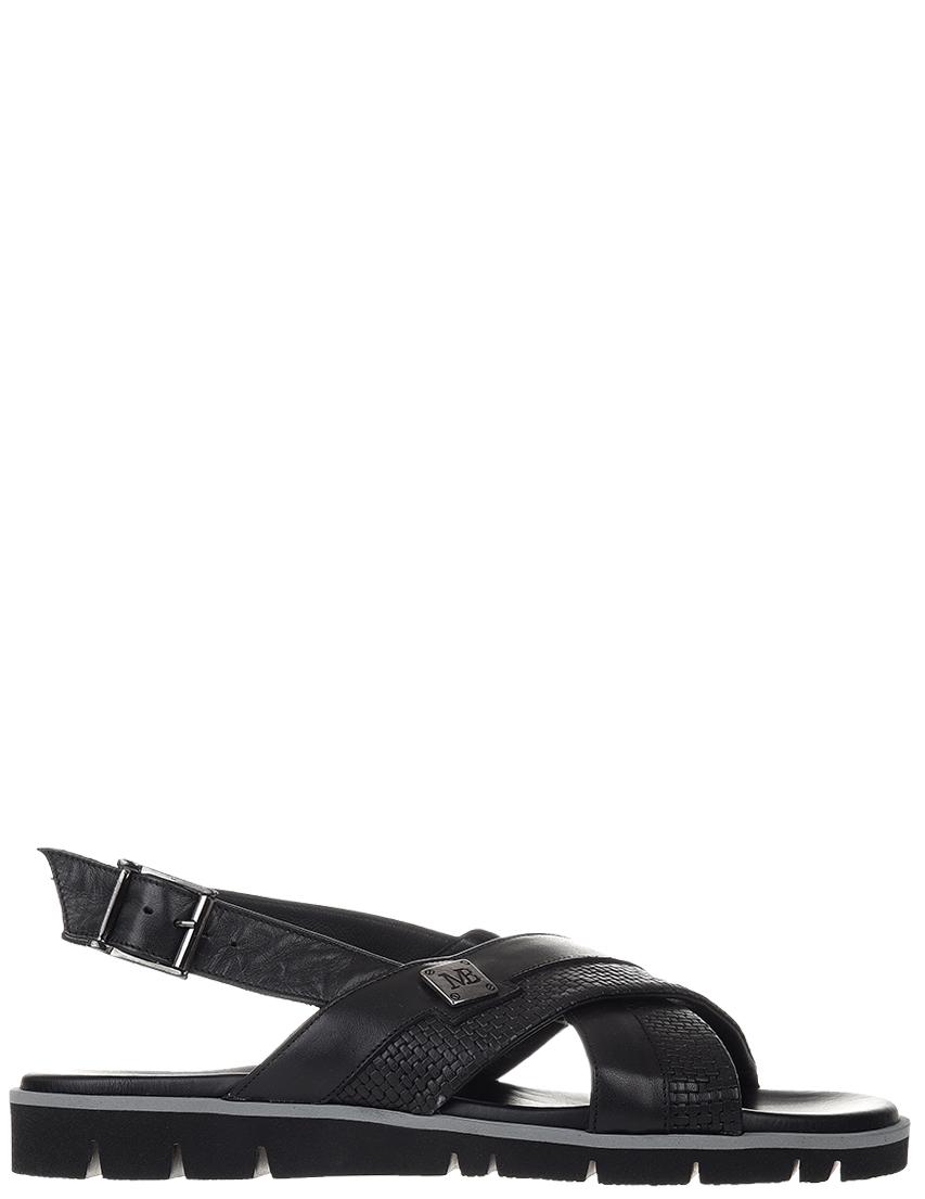 Мужские сандалии Mario Bruni AGR-6689_black