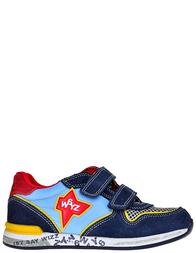 Детские кроссовки для мальчиков Wizz Novak-navy-celeste-rosso-giallo_blue