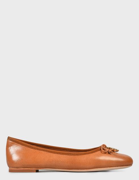женские коричневые Балетки Tory Burch 71838-240 - фото-6