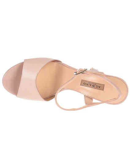 розовые Босоножки Albano 2254_pink размер - 36; 39